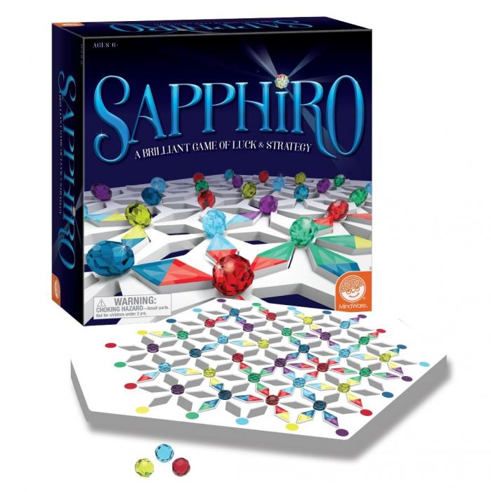 Sapphiro, boardgame de strategie, cu piese din lemn 0