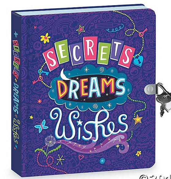 Secrets, Dreams, Wishes Diary 0