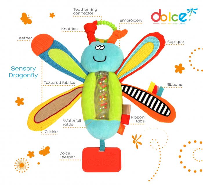 Libelulă, jucărie senzorială 1