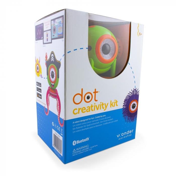 Set creativ pentru roboțelul simpatic DOT 0