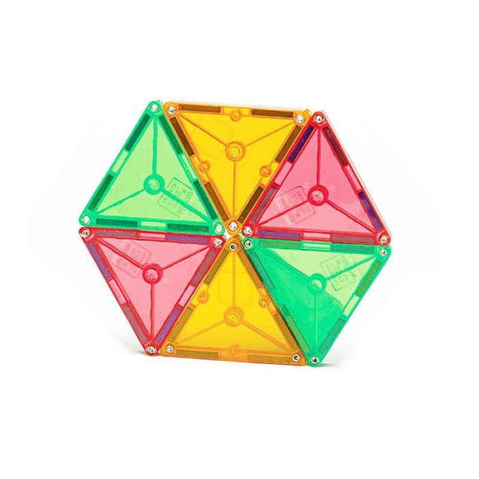 Set magnetic Clear Colors Magna-Tiles (100 piese) 3
