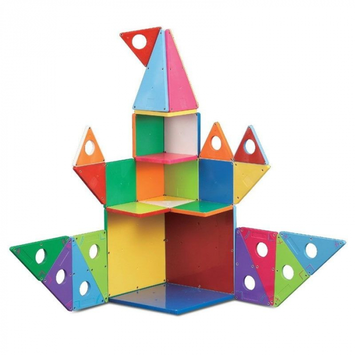 Set magnetic Geometric Solids Magna-Tiles (33 piese) 2