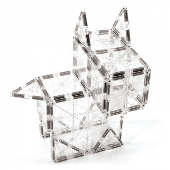 Set magnetic ICE Transparent Magna-Tiles (32 piese) 3