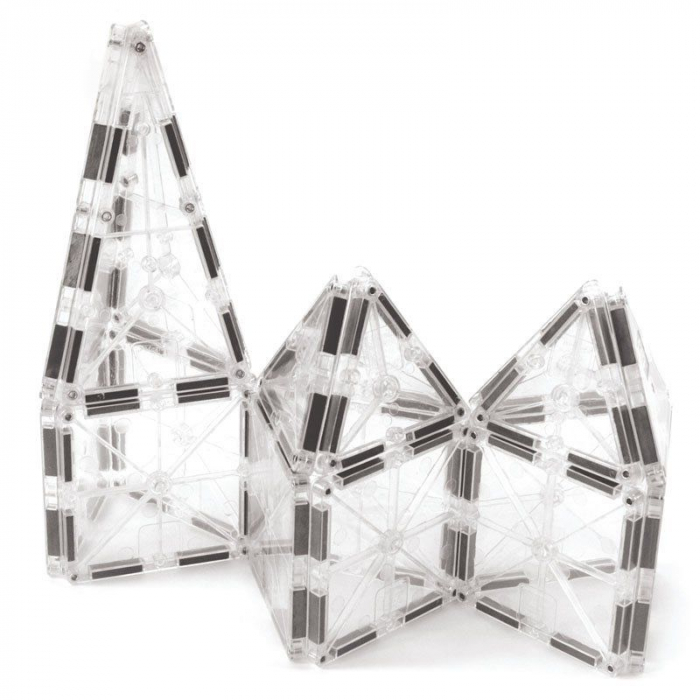 Set magnetic ICE Transparent Magna-Tiles (32 piese) 4