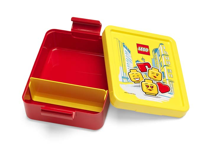 Set pentru pranz LEGO Iconic rosu-galben (40581725) [1]