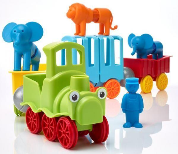 Set SMARTMAX My First - Animal Train 3