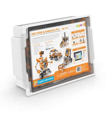 SET STEM ROBOTICA ERP PRO EDITION cu Bluetooth - Engino 0