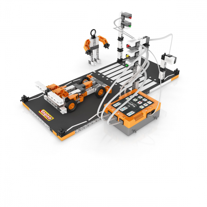 SET STEM ROBOTICA ERP PRO EDITION cu Bluetooth - Engino 2