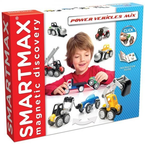 "Set Vehicule SMARTMAX ""PLAY"" -  Power Mix 0"