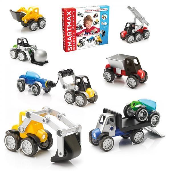 "Set Vehicule SMARTMAX ""PLAY"" -  Power Mix 5"