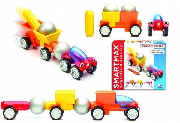 "Set Vehicule SMARTMAX ""PLAY"" - Tommy Train 2"