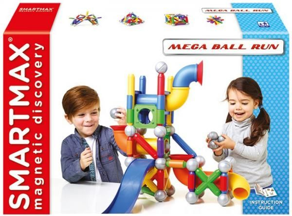 "SMARTMAX ""PLAY"" - Ball Run Fun - Mega Ball Run 0"