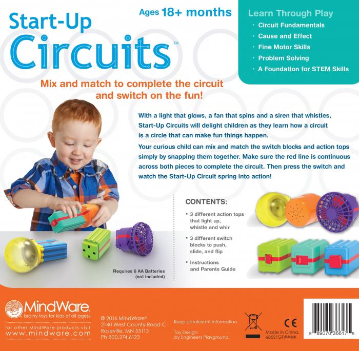 Start-up Circuits, primul meu set de știință, primele noțiuni de fizică [1]