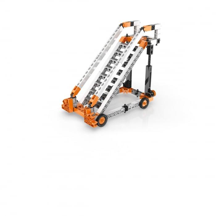 STEM FIZICĂ MASTER SET: Mașini simple, Structuri, Legile lui Newton, Energie solară 3