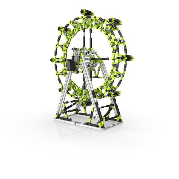 STEM SET PARC DE DISTRACȚII: London Eye și Roata Ferris [2]