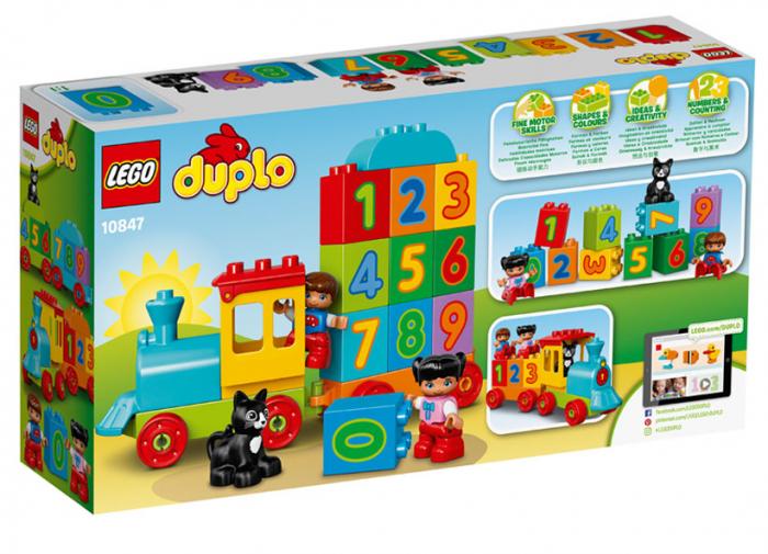 Trenul cu numere LEGO DUPLO (10847) 2
