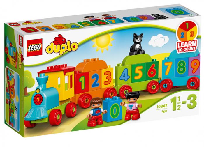 Trenul cu numere LEGO DUPLO (10847) 0