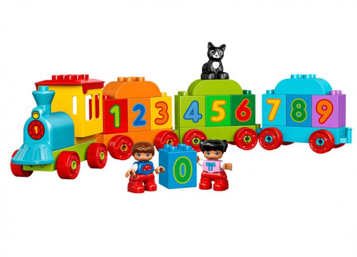 Trenul cu numere LEGO DUPLO (10847) 4