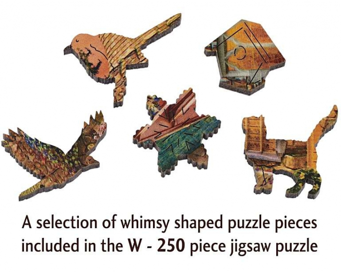 Tărâmul castelului de poveste, puzzle din lemn Wentworth 2
