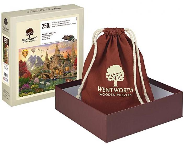 Tărâmul castelului de poveste, puzzle din lemn Wentworth 1