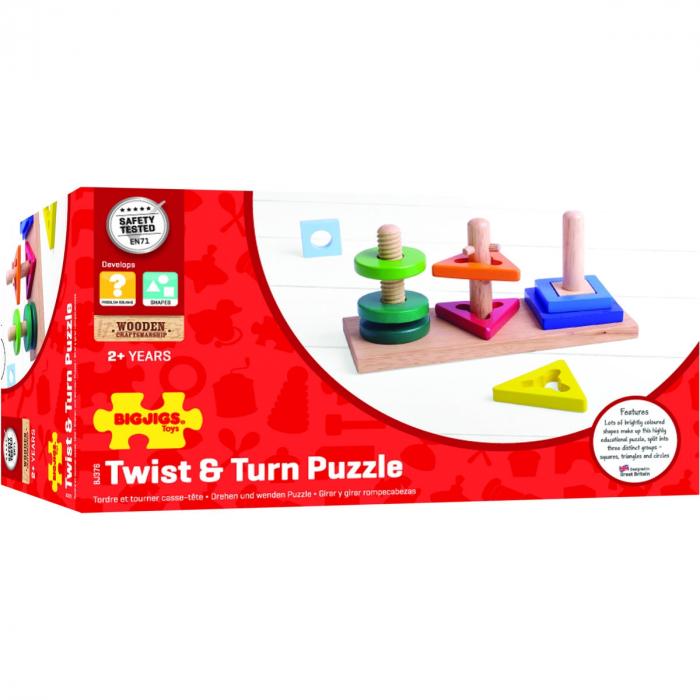 Twist and turn puzzle- Joc de potrivire 0