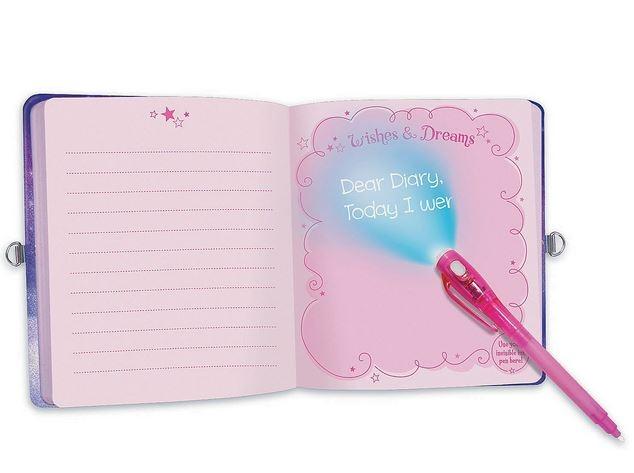 Unicorn Dreams Invisible Ink Diary 1