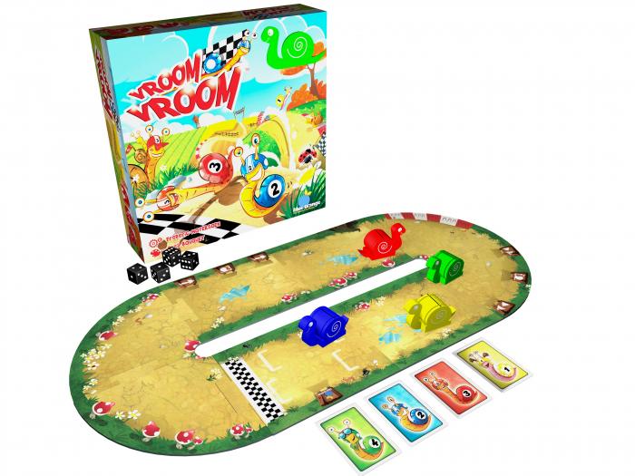 1+1 gratuit, Iepurașul jucăuș și melcii vitezomani - pachet jocuri educative pentru 3-4 ani - Happy Bunny și Vroom Vroom 0
