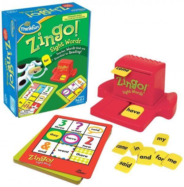 Zingo Sight Words 1