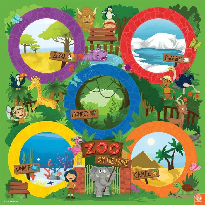 Zoo on the loose – Evadare de la grădina zoologică 3