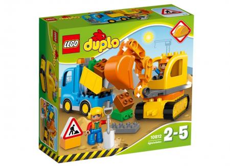 Camion si excavator pe senile LEGO DUPLO  (10812)0
