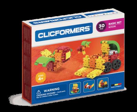 Set de construit Clicformers-Basic 30 piese0
