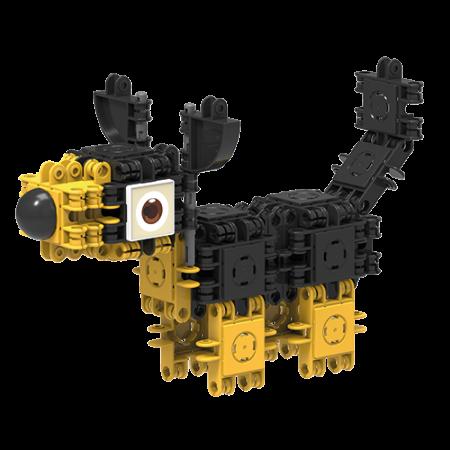 Set de construit Clicformers- Catei prietenosi, 74 piese3