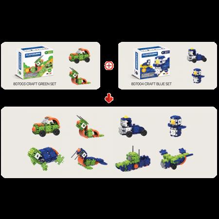 Set de construit Clicformers- Craft albastru, 25 de piese3