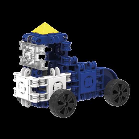 Set de construit Clicformers- Craft albastru, 25 de piese1