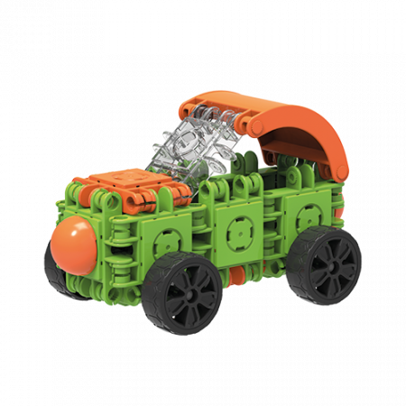 Set de construit Clicformers- Craft verde, 25 de piese [2]