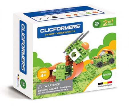 Set de construit Clicformers- Insecte, 30 piese-corect0