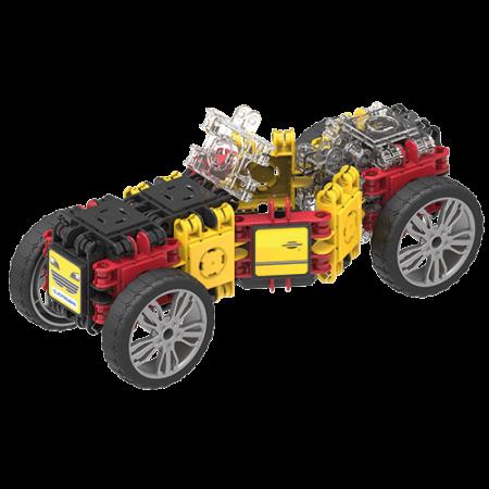 Set de construit Clicformers- Masini de viteza, set 34 piese2