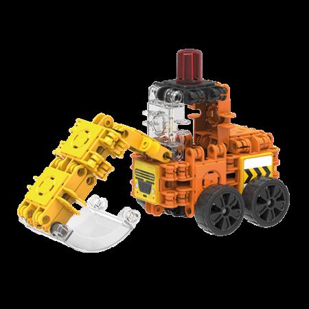 Set de construit Clicformers- Mini set cu vehicule de santier1
