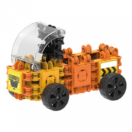 Set de construit Clicformers- Mini set cu vehicule de santier3