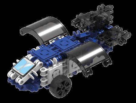 Set de construit Clicformers-Mini Transporter 30 piese1
