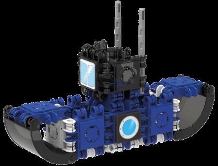 Set de construit Clicformers-Mini Transporter 30 piese2