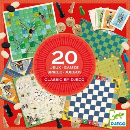 Colecția Djeco - 20 jocuri clasice0