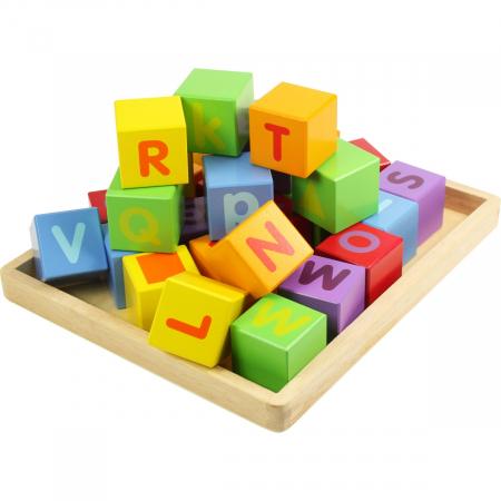 Cuburi pentru format cuvinte - ABC0