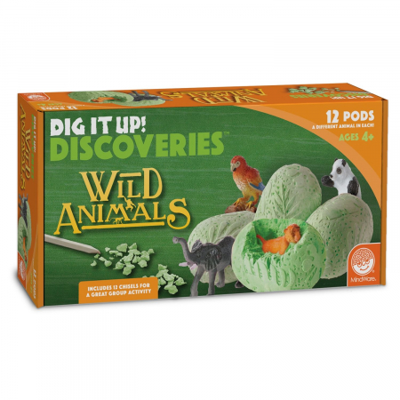 Dig It Up! Discoveries: Wild Animals0