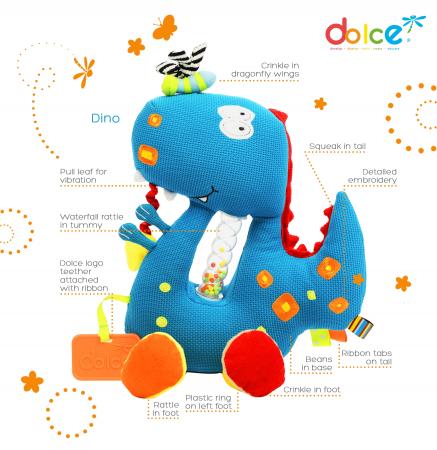 Dinozaur, jucărie senzorială1