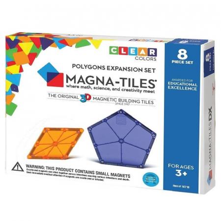 Extensie Poligoane Magna-Tiles (8 piese)0