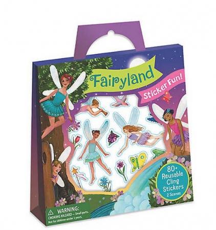 Fairyland Reusable Sticker Tote0