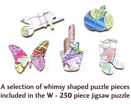 Florăria, puzzle din lemn Wentworth1