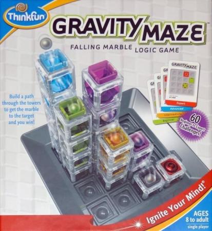 Gravity Maze (labirintul gravitației) de la Think Fun [5]