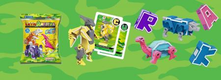 Letranimal, Fluo, litere transformabile în animale robot [3]